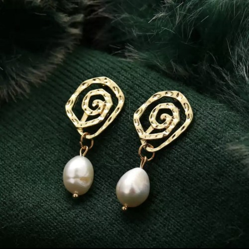 Makena Pearl Drop Earrings
