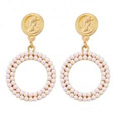 Jane Pearl Drop Earrings