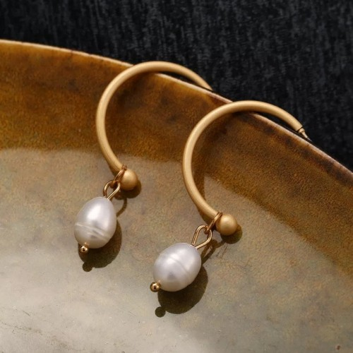 Sophia Pearl Drop Earrings