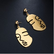 Luxe Profile Drop Earrings