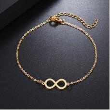 Infinity Bracelet in Gold