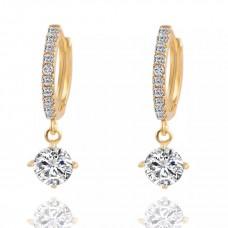 Cute CZ Drop Earrings