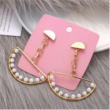Chandelier Pearl Drop Earrings