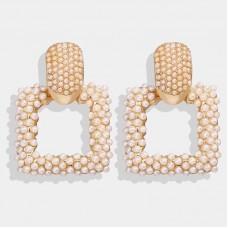 Riena Pearl Statement Earrings