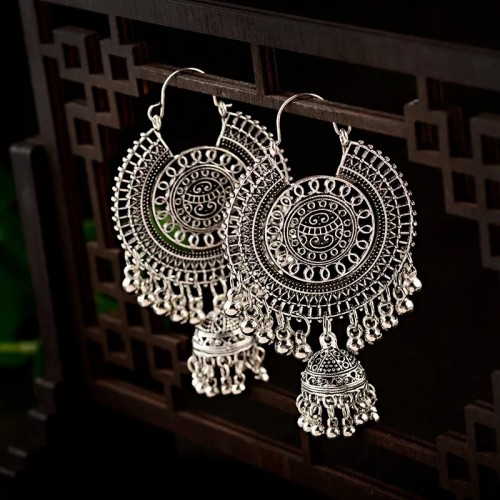 Imani Desi Earrings in Silver