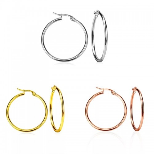 Basic Hoops 4cm diameter