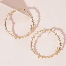 Wreath Circle Earrings