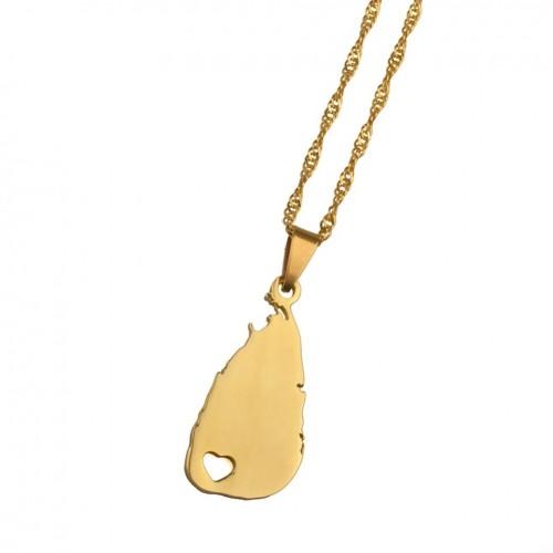 Sri Lanka Pendant Necklace