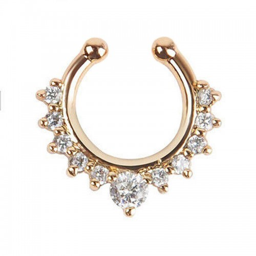 Septum Ring in Gold
