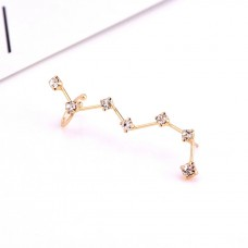 Constellation Ear Cuff Gold Plate