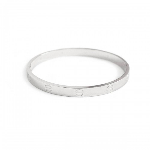 Love Bangle in Silver