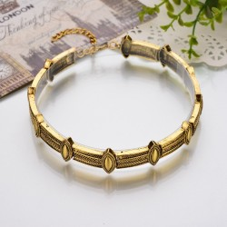 Antique Ethnic Oval Choker